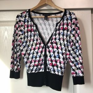 White House Black Market Sweaters - White House Black Market cardigan sweater size L
